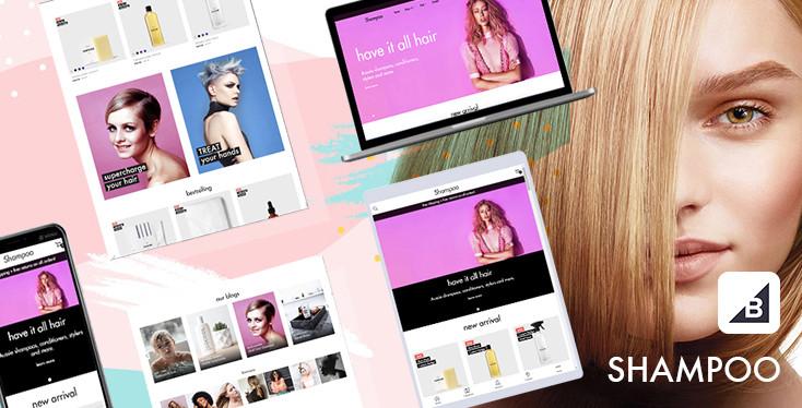 Shampoo - Beauty Shop BigCommerce Theme