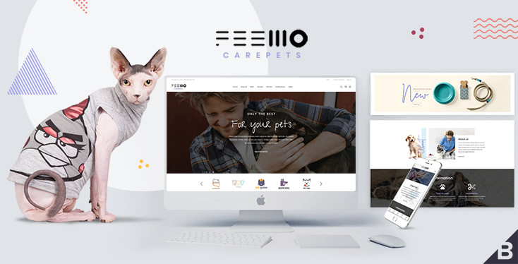 Feellio Care Pets BigCommerce Theme