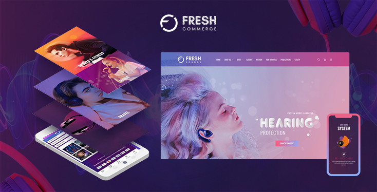 Fresh Sounds BigCommerce Theme