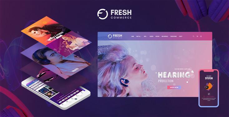 Fresh Sounds BigCommerce Theme