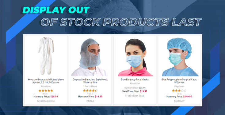 BigCommerce Display Out-of-Stock Products