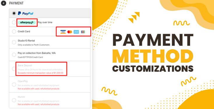 BigCommerce Payment Method Customizations