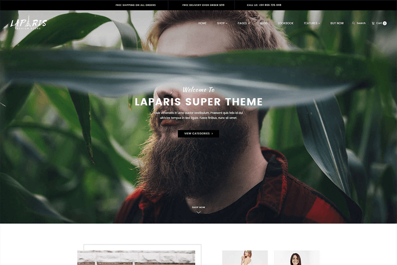 Sectioned Shopify Theme – Amazing Idea For Online Fashion Store - La Paris #2