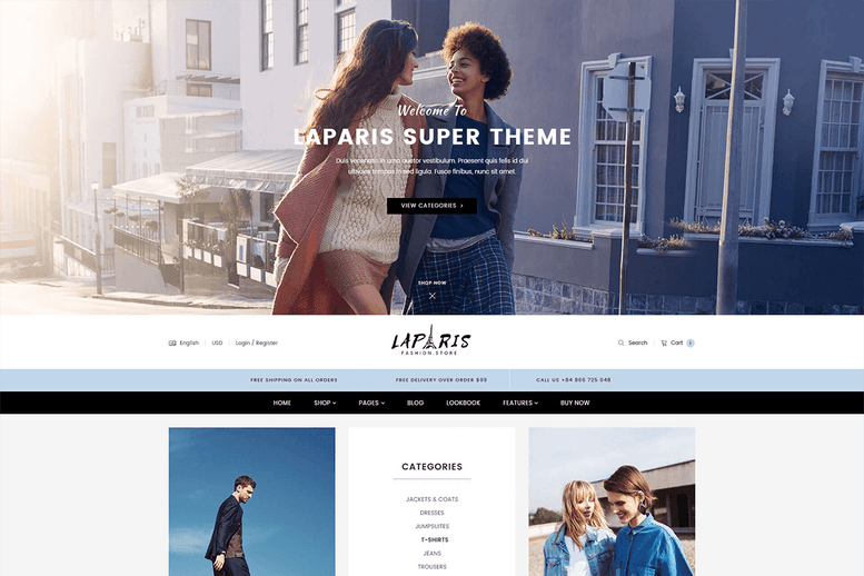 Incredible Sectioned Shopify Theme For Online Fashion Store - La Paris #5