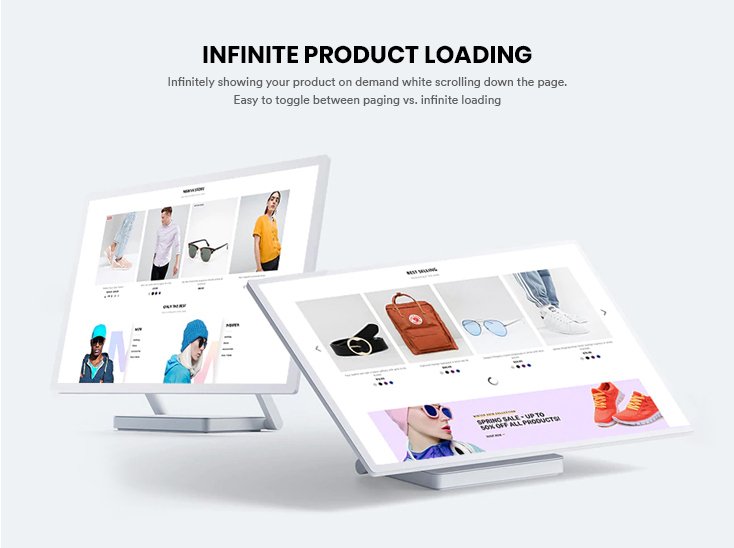 Infinite product loading