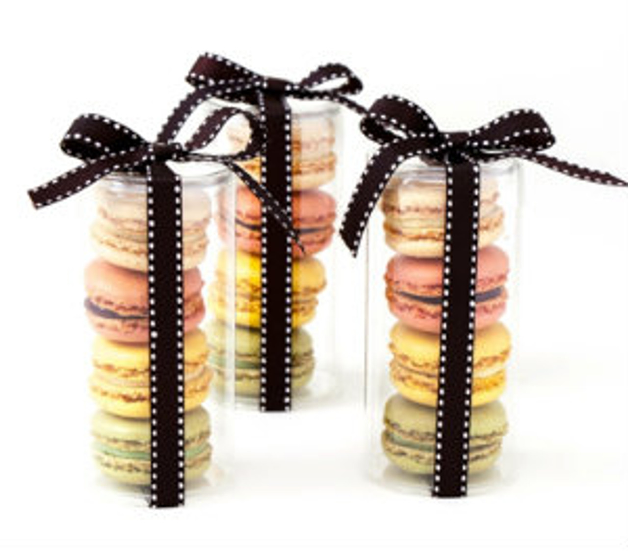 Tube - 4 Macarons - Not available for shipping.