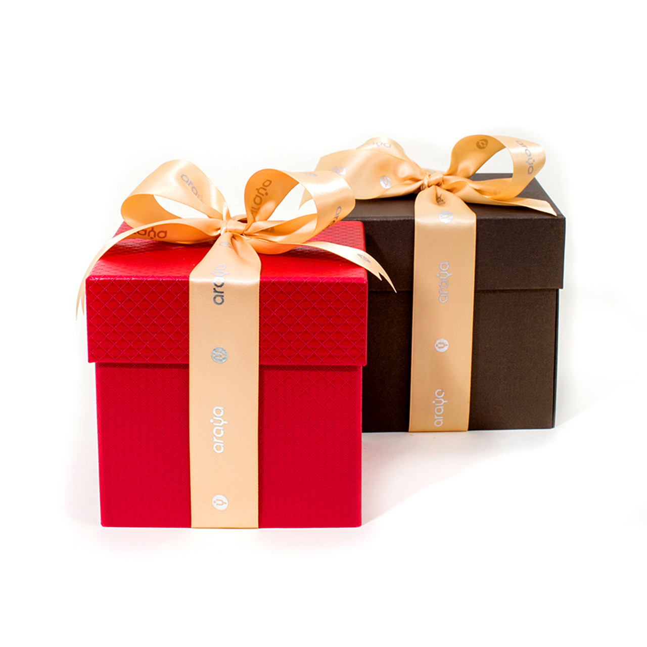 Multilayer Combination Gift Box - Available in Red & Bronze