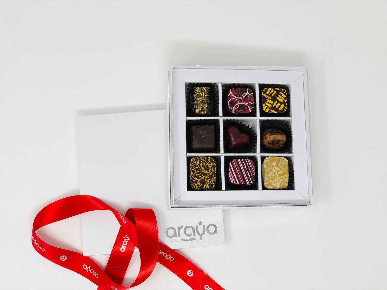 9 Chocolate Gift Box  -