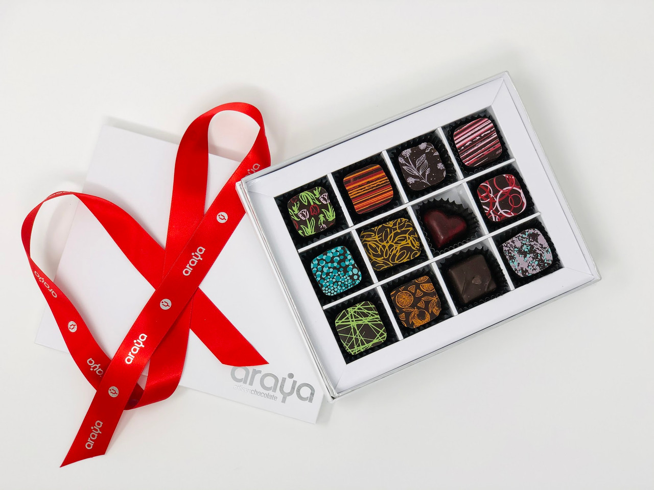 12 Chocolate Gift Box -