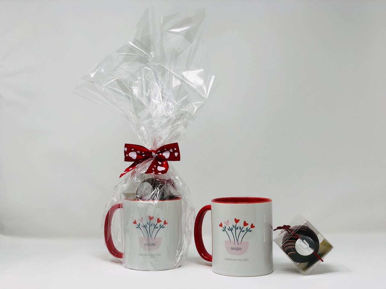 Valentine's Day mug with Chocobom
