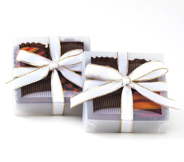 Favor Box - 4 Chocolates - Not available for shipping.