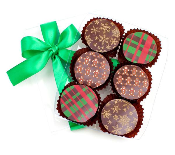 Holiday Chocolate Covered Oreos (Vegan / Dairy Free)