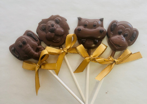 Milk Zoo Animal Lollipops