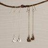 Chains of Love Droplet or Long Drop Earrings