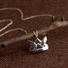 Origami Kabuto (Samurai Helmet) Necklace