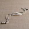 Customized Medic Alert Bracelet, Double Strand
