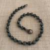 Single Strand (your choice of stone shape) Titanium Coated Hematite Bracelet