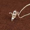 Origami Tsuru Necklace