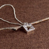 Stars for Squares Necklace