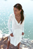 51inc Sample Sale for WK:  Island Cover Up Hooded Dress in Black or White