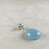 Genuine Aquamarine with Handcrafted Rose Necklace--I only have ONE!