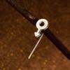 Gender Symbol Stem Earrings--SOLD SEPARATELY (ie, not sold as a pair)