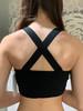 51inc Sample Sale for WK:  Malibu Crop Top (Yoga/Sports Bra)