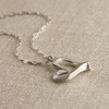 Rough Around the Edges Heart Necklace