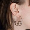 Unicorn Hoop Earrings