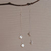 "Long Drops (1.5"" & 2"" chains) with Round Hoop Earwire"