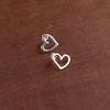 Mini Love Me Love Me Not Post, Droplet or Long Drop Earrings