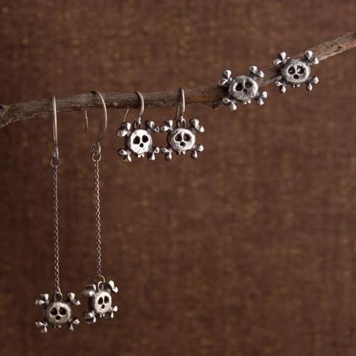Mini Danger Post, Droplet, or Long Drop Earrings