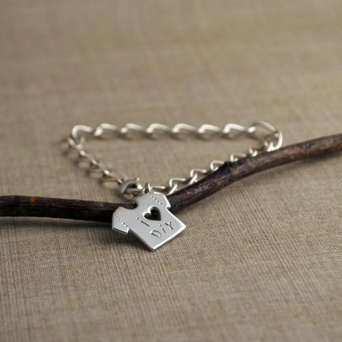 Customized Sweet Tee Shirt Bracelet