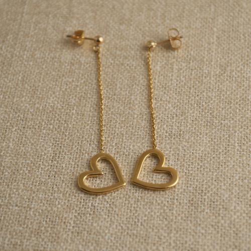 Gold Vermeil Mini Love Me Love Me Not Earrings