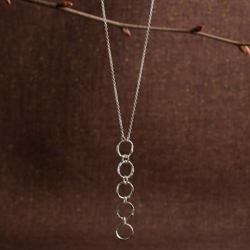 Halo Quintet Necklace