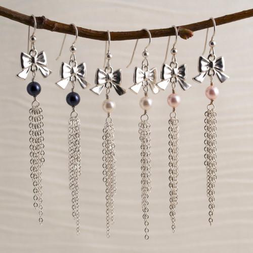 Rocker Chick Tassle Earrings