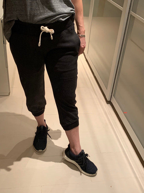 51inc Sample Sale for WK: Heather Grey Sueded Knickers (Joggers)