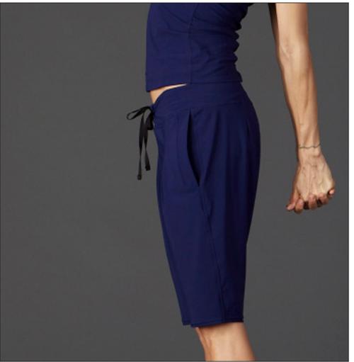 51inc Sample Sale for WK:  Studio Bermuda Shorts in Black or Violet