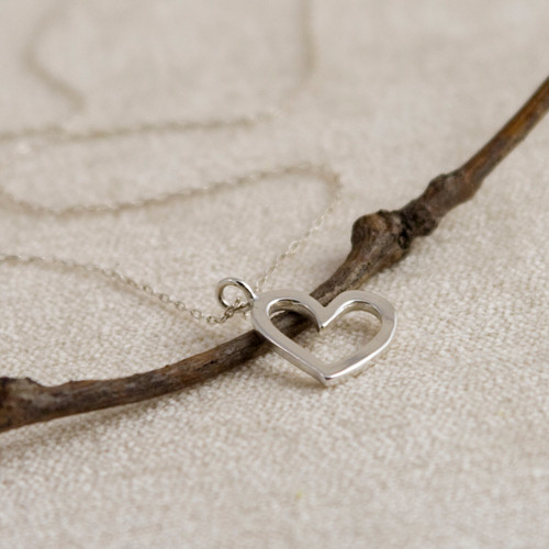 Mini Love Me Love Me Not Necklace