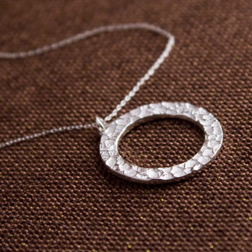 Ring of Prometheus Necklace