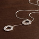 """Connect the Dots"" Looparella Lariat Necklace"