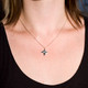 May Sale Item:  Origami Shuriken (Ninja Star) Necklace