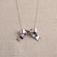 Ribbon Bow Necklace