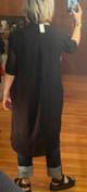 51inc Sample Sale for WK:  Digital Dress in Black
