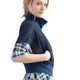 51inc Sample Sale for WK:  Indigo Fleece Sleeveless Jacket