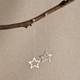 Mini Stardust Post,  Long Drop Earrings, or Thread Style Earrings