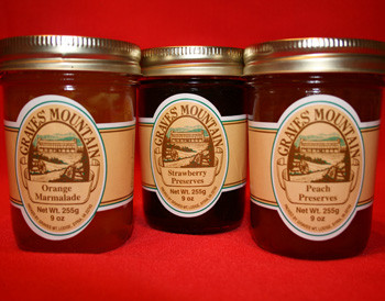 GRAVES MOUNTAIN GOURMET PRESERVE SAMPLER