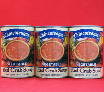 CHINCOTEAGUE VEGETABLE RED CRAB SOUP