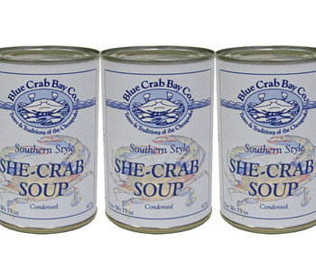 BLUE CRAB BAY SHE-CRAB SOUP
