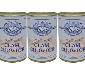 BLUE CRAB BAY NEW ENGLAND CLAM CHOWDER